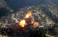 अमेरिकाले अफगानिस्तानमा एक बर्षमा साढे सात हजार बम खसाल्यो