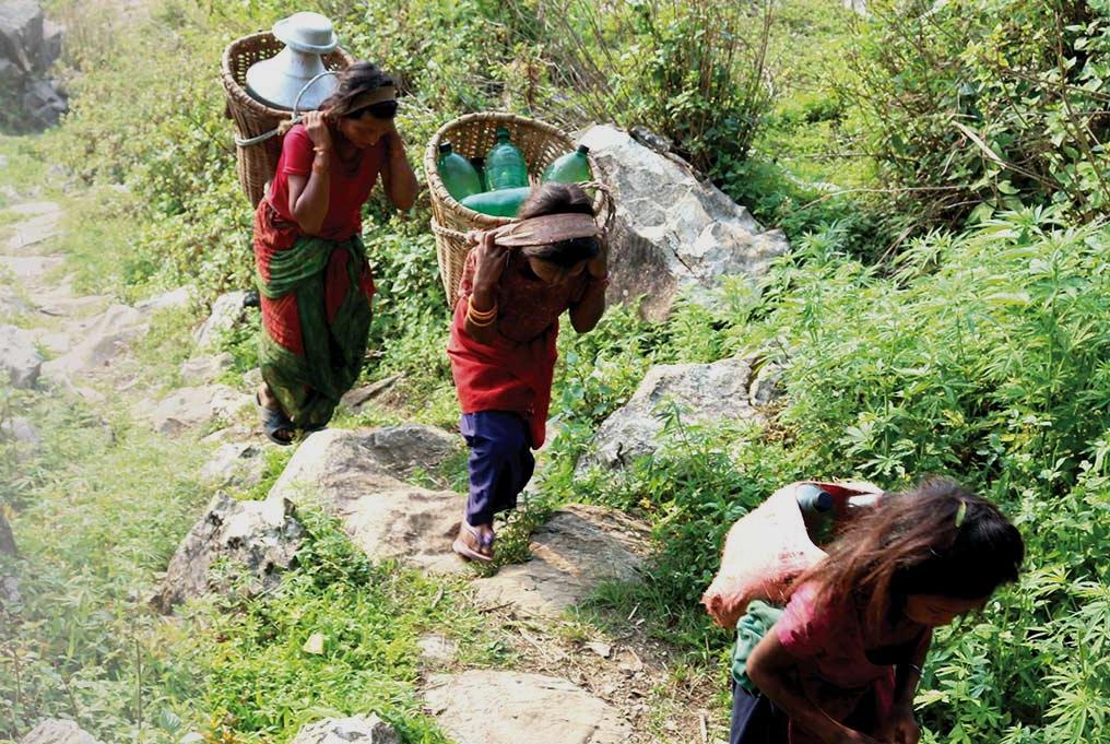 काकाकुल चेपाङ गाउँ
