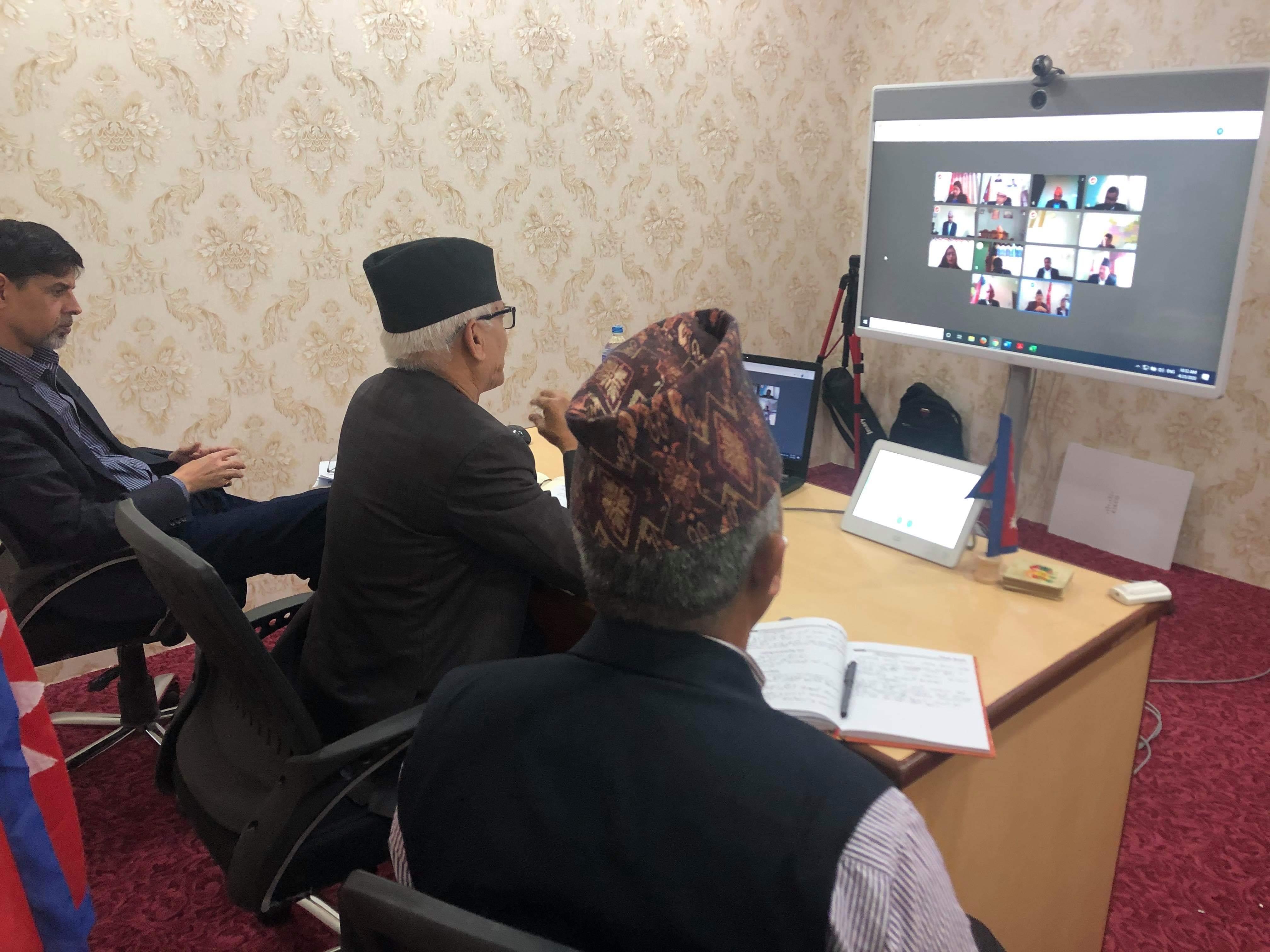 १३ जिल्लाका प्रमुख जिल्ला अधिकारीसँग प्रदेश सरकारको छलफल