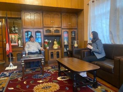 नेकपा विवादमा चिनियाँ चासोः यान्छीले भेटिन शिर्ष नेता