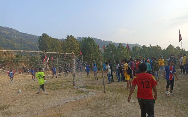 चौथो अर्चले सेभेन ए साइट फुटबल सुरुः ६ खेल सम्पन्न